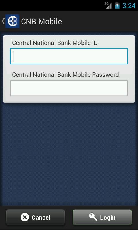 Central National Bank Mobile - screenshot
