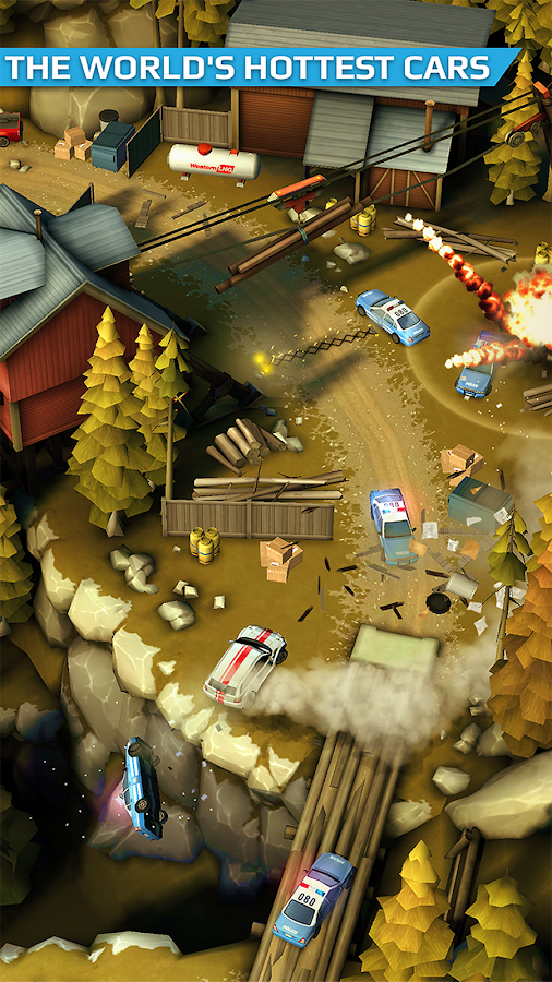 Smash Bandits Racing- screenshot