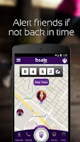 Screenshot of bSafe - Personal Safety App