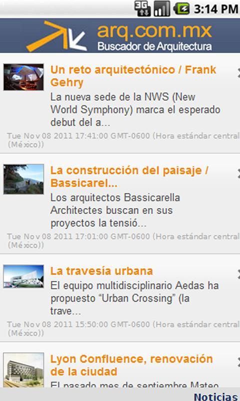 Arquitectura- screenshot