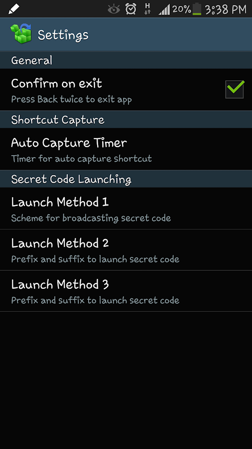 Shortcut Master (Lite)- screenshot