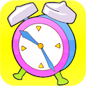 Clock Time for Kids logo
