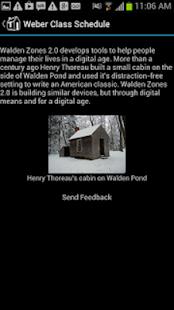 Weber State Class Calendar - screenshot thumbnail