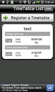 Smart TimeTable