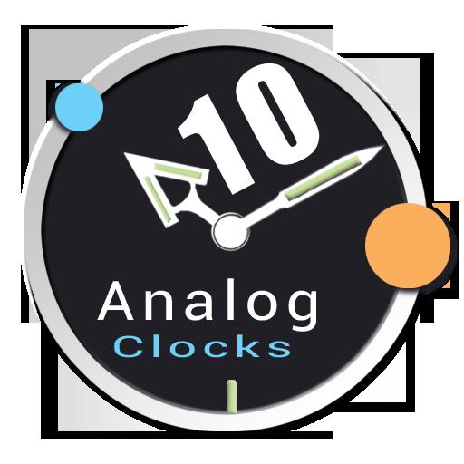 Analog Clock Pack 10 UCCW Skin 個人化 App LOGO-硬是要APP