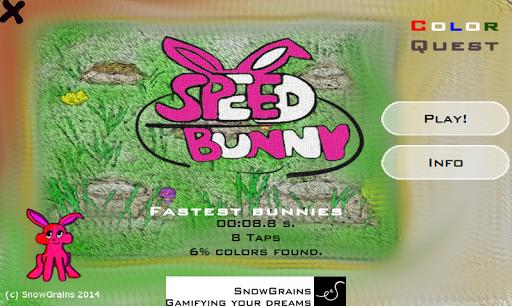 SpeedBunny Color Quest