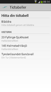 Hallandstrafiken - screenshot thumbnail