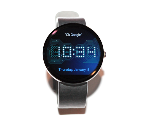 Wear Time Circuit - Watch Face