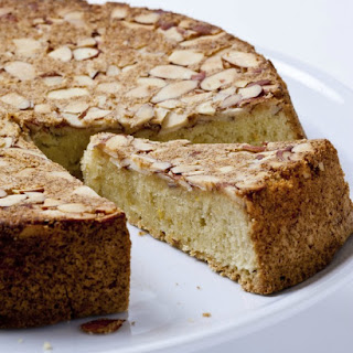 Almond and Olive Oil Cake.