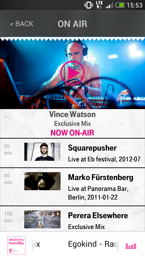 Electronic Beats Radio - screenshot