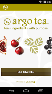 Argo Tea- screenshot thumbnail