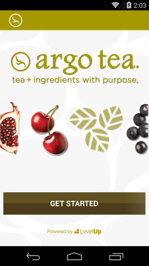 Argo Tea- screenshot