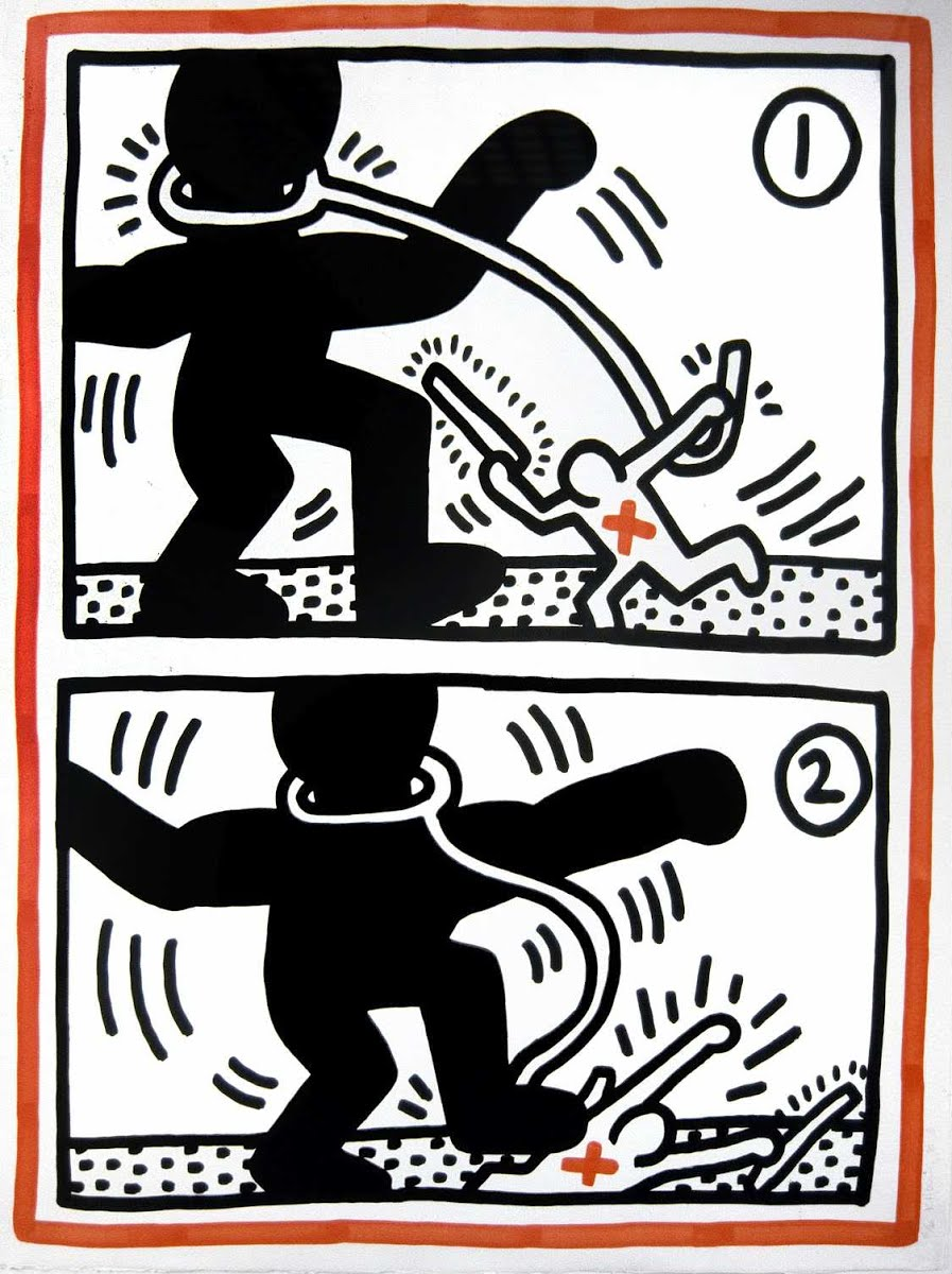 Free South Africa - Keith Haring — Google Arts & Culture