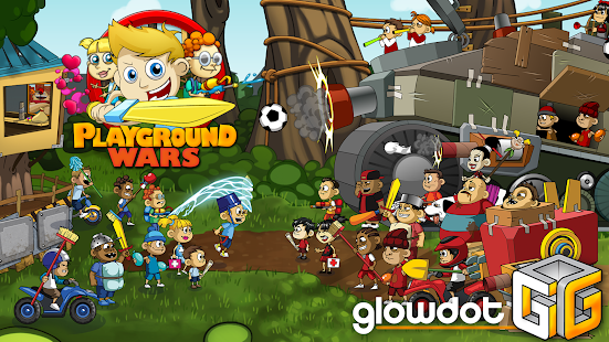 Playground Wars- screenshot thumbnail