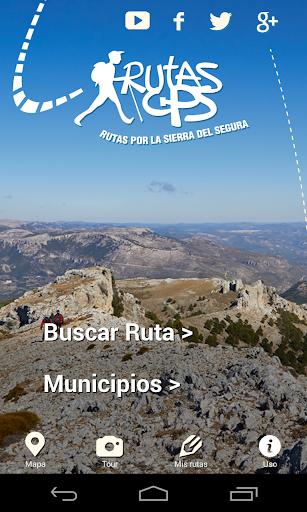 Rutas GPS Sierra del Segura