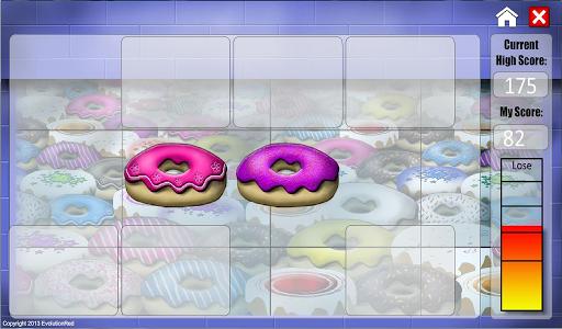 【免費休閒App】Donuts Matching Game-APP點子