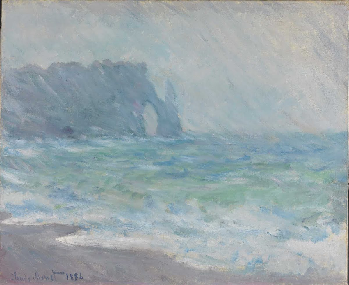 Regnvær, Etretat - Claude Monet — Google Arts & Culture