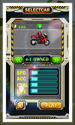 Motorcycle Speed Run Race