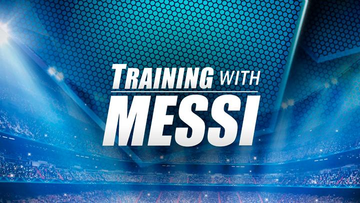 Training with Messi - screenshot