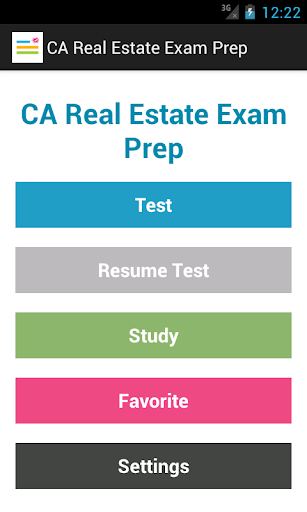 CA Real Estate Exam Prep