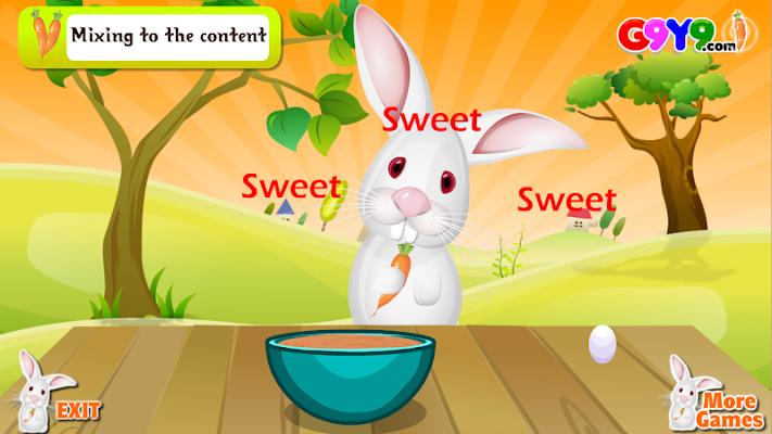famous carrot cake cooking - screenshot