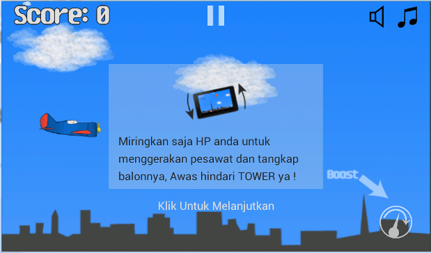 Game Pesawat- screenshot
