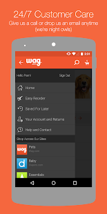 Wag.com - screenshot thumbnail