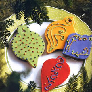 Holiday Sugar Cookies.