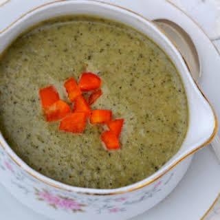 Dairy-Free Cream of Broccoli Soup.