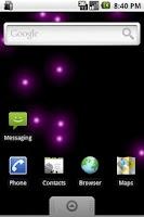 Screenshot of Magic Rain Live Wallpaper