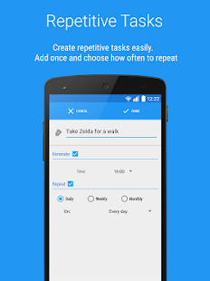 Reminders - Task reminder app - screenshot thumbnail