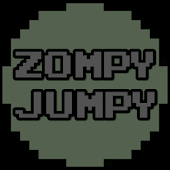 Zompy Jumpy -Run & Jump Zombie Survival Indie Game