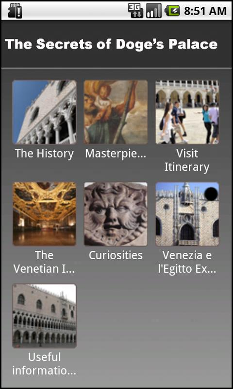 The secrets of Doge's palace - screenshot