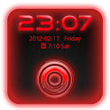 Go Locker Theme Red Tech icon