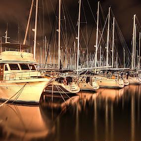 MARINA HERZLIYA by Abu  Janjalani Abdullah - Transportation Boats ( boats, transportation )