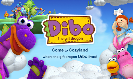 Dibo1 gift dragon by ToMoKiDS