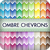 Ombre Chevron Wallpapers
