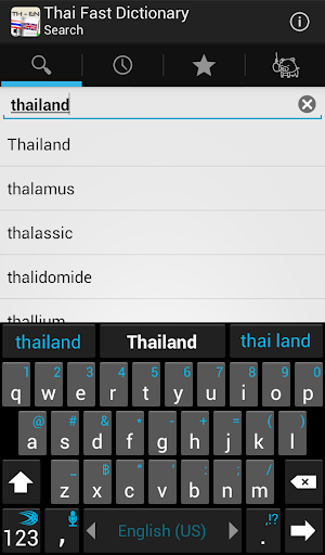 Thai Fast Dictionary