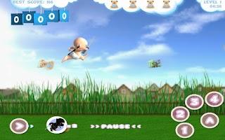 Screenshot of Baby Ninja Lite
