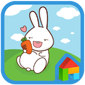 Carrot Rabbit dodol theme