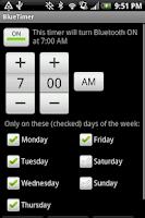 Screenshot of BlueTimer