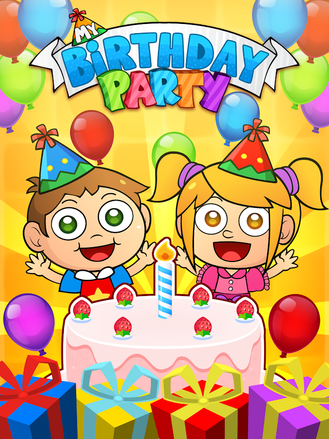 My Birthday Party -  Cakes, Gifts and Friends!- screenshot