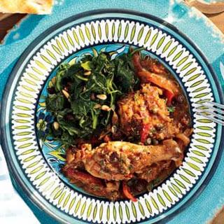 Southern Italian Braised Chicken
