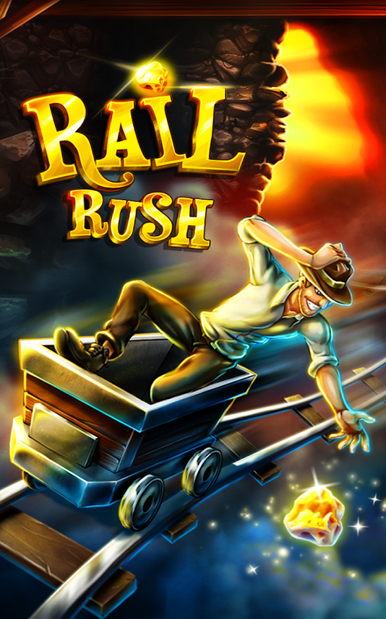 Rail Rush: captura de pantalla