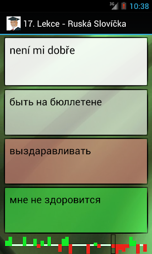 Ruština - Slovíčka