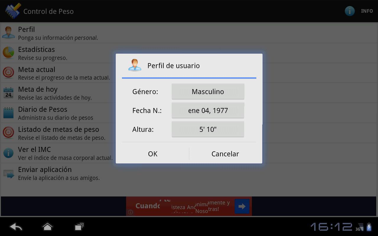 Control De Peso Simple Aplicaciones De Android En Google