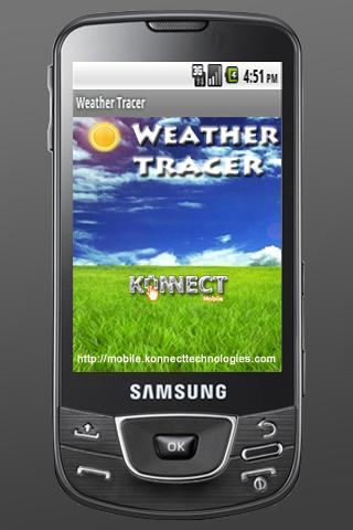 Weather Tracer - screenshot
