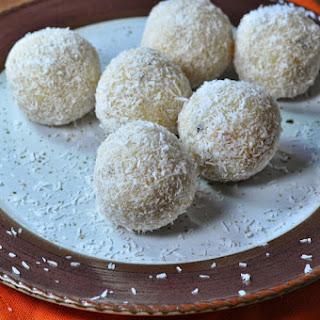 Coconut Ladoo.