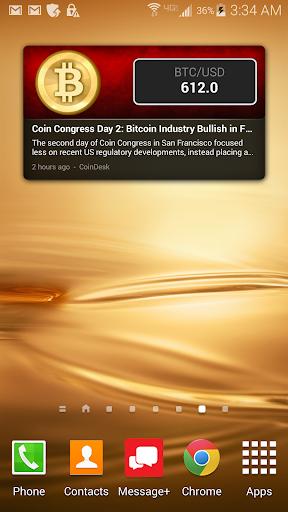 Bitcoin Rate Tracker w News