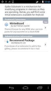 Cydia Substrate - screenshot thumbnail